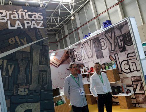 Buena acogida de las soluciones en packaging para aceite de oliva y estands de Gráficas la Paz en Expoliva 2021